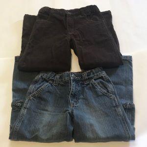 Gymboree Boys size 6 pant bundle